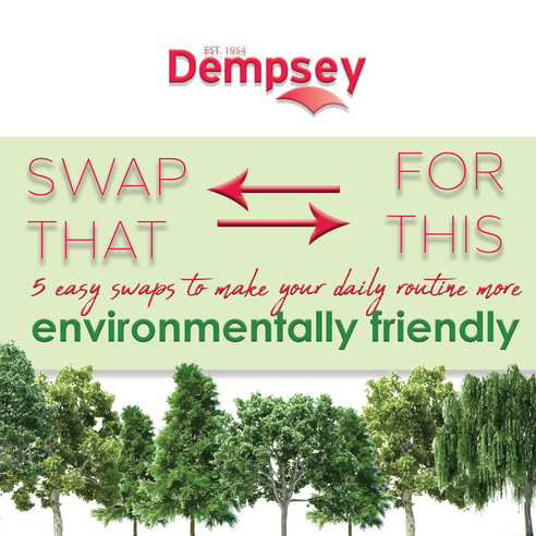 5 Simple Swaps to Make Your Daily Routine More Environmentally Friendly