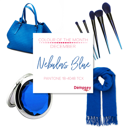 December's Colour of the Month - Nebulas Blue
