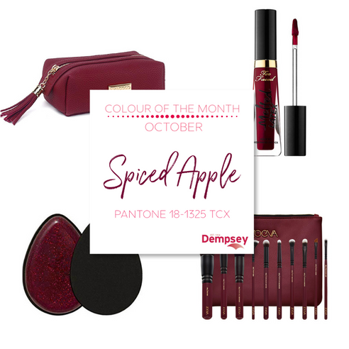 Colour of the Month - October - Spiced Apple