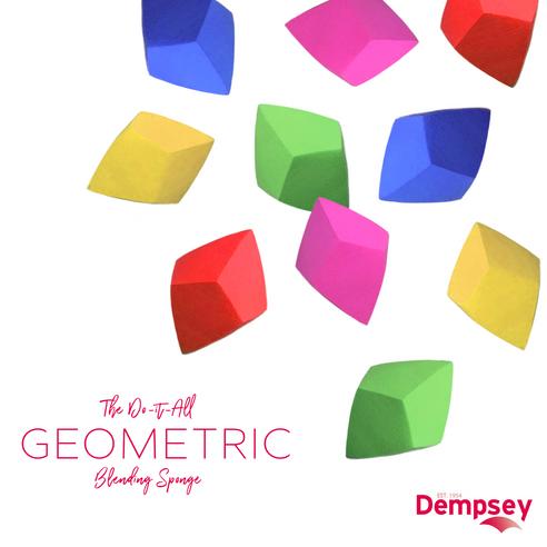 Introducing Dempsey's Custom Designed Geometric Blending Sponge