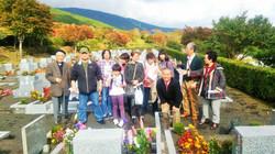 2015年11月3日墓苑礼拝
