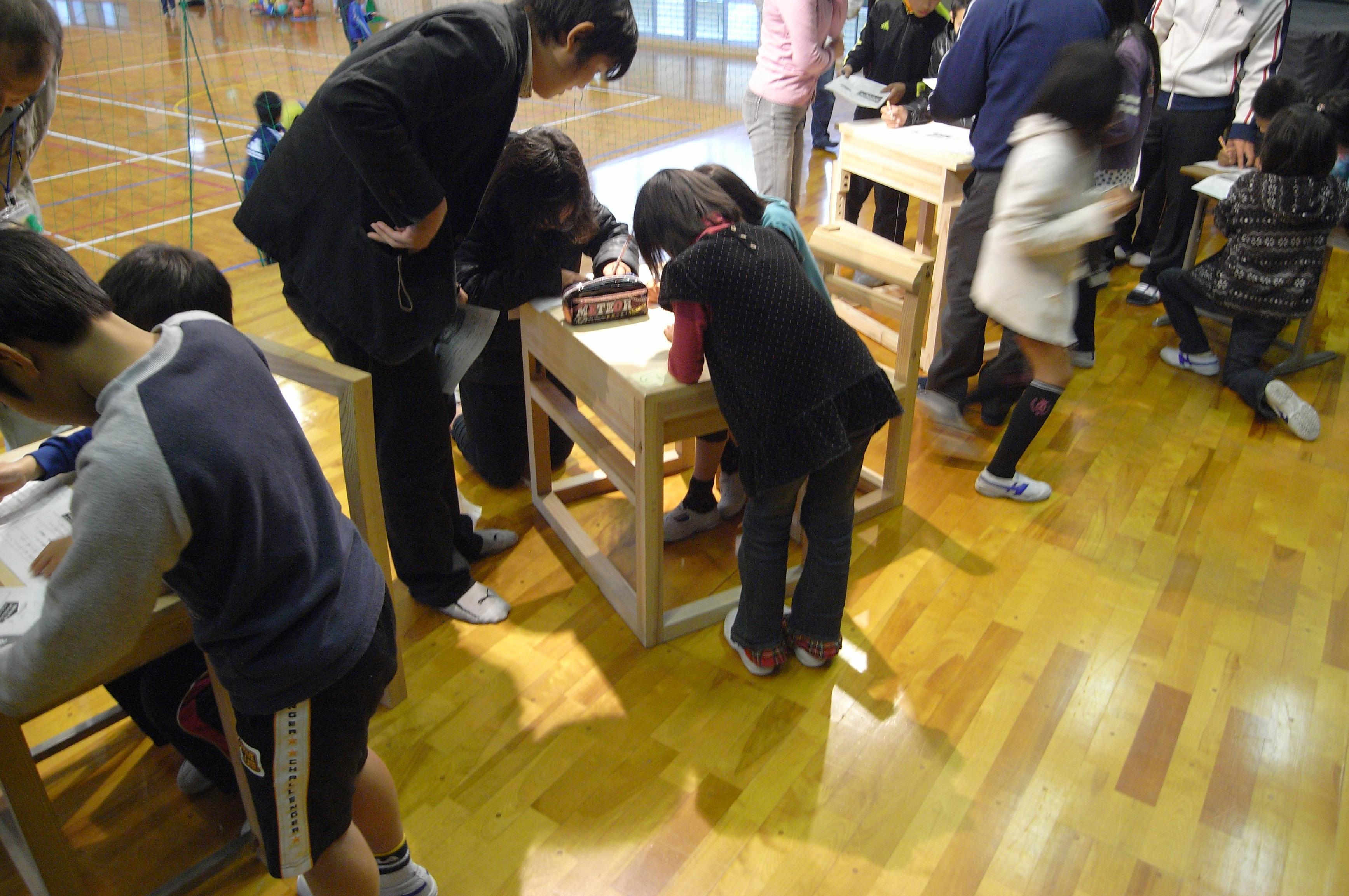 高知県本山小学校の児童の皆さんや先生方と一緒に考えました