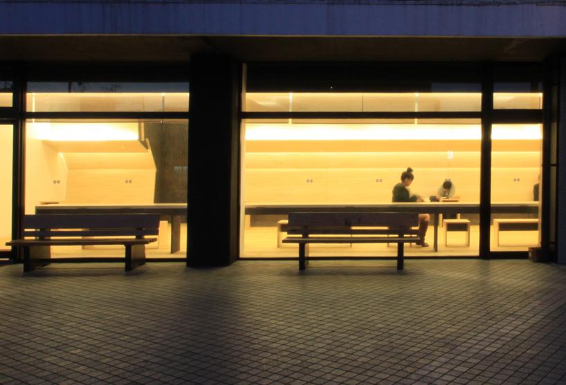 明るく見通せる安全安心の駅 view from outside