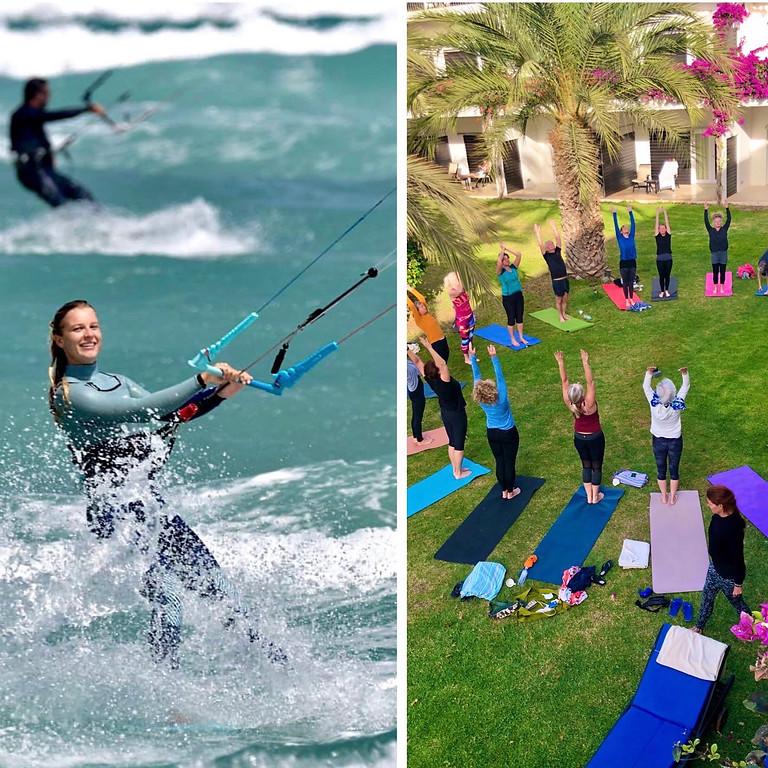 Yoga & Kite på Kap Verde