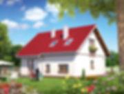 Строительство домов из блока и кирпича. Проект Т19