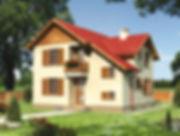 Строительство домов из блока и кирпича. Проект Т10