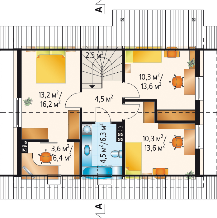 Т4 - 2 этаж