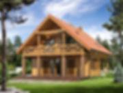 Строительство каркасных домов в Твери и Московской области. Проект 04