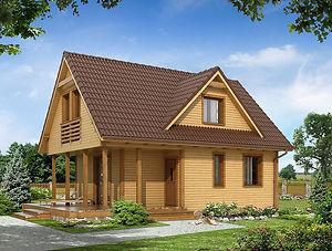 Строительство каркасных домов в Твери и Московской области. Проект 16