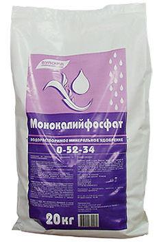 Монокалиийфосфат. Каталог удобрений
