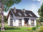 Строительство домов из блока и кирпича. Проект Т4