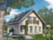 Строительство домов из блока и кирпича. Проект Т16