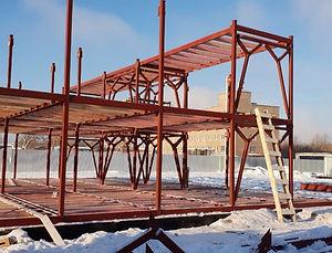 Изготовление и монтаж промышленных зданий из металлоконструкций