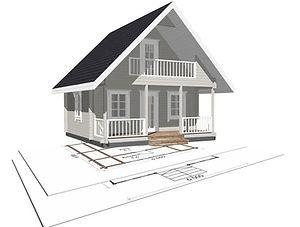 строительство дачных домиков, строительство дачных домов. проект Д8