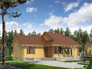 Строительство каркасных домов в Твери и Московской области. Проект 17