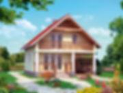 Строительство домов из блока и кирпича. Проект Т12
