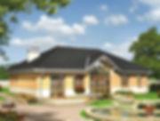 Строительство домов из блока и кирпича. Проект Т2