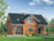 Строительство каркасных домов в Твери и Московской области. Проект 14