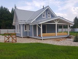 Услуга строительство домов по каркасной технологии