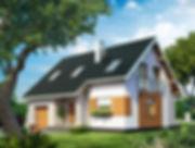 Строительство домов из блока и кирпича. Проект Т18