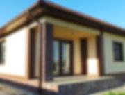 Строительство домов из блока и кирпича. Проект Т26