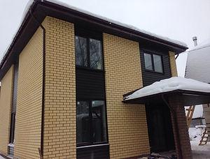 Строительство домов из блока и кирпича. Проект Т30
