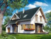 Строительство домов из блока и кирпича. Проект Т14