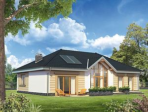 Строительство домов из блока и кирпича. Проект Т3