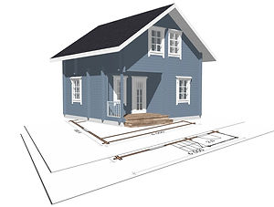 строительство дачных домиков, строительство дачных домов. проект Д11