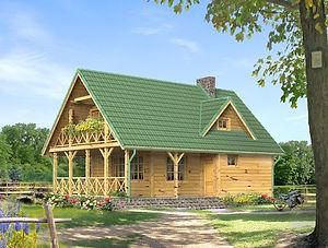Строительство каркасных домов в Твери и Московской области. Проект 09