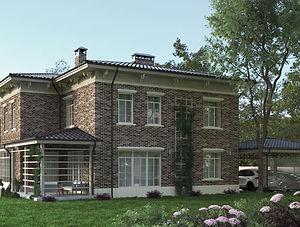 Строительство домов из блока и кирпича. Проект Т24
