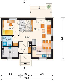 Т4 - 1 этаж