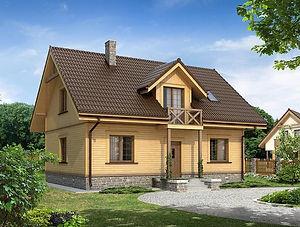 Строительство каркасных домов в Твери и Московской области. Проект 01