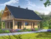 Строительство каркасных домов в Твери и Московской области. Проект 13