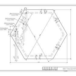 проектирование домов, план фундамента