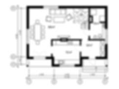 План каркасного дома для проекта 14