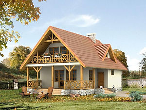 Строительство каркасных домов в Твери и Московской области. Проект 15