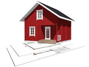 строительство дачных домиков, строительство дачных домов. проект Д9