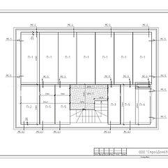 проектирование домов, планы перекрытий