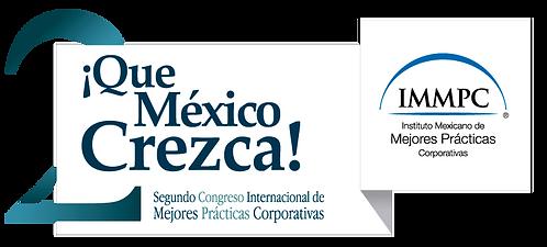 II Congreso IMMPC Mejores Prácticas ¡Que México Crezca!