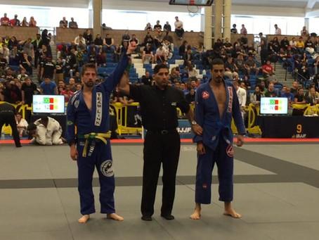 Assistant coach Tom Gomes wins gold at IBJJF Boston Open