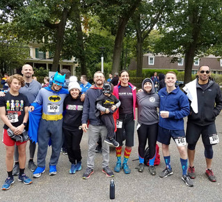"Team Link Northampton Participates in Community Effort ""Superhero"" 5k / 10k Run To Benefit"