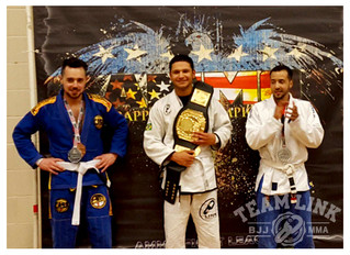 Treydon Jenkins wins gold at AMMO after training BJJ for only 10 weeks!