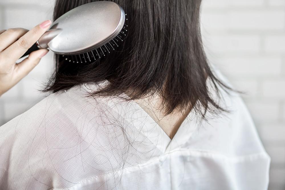 每天約有 50-150 根頭髮自然掉落