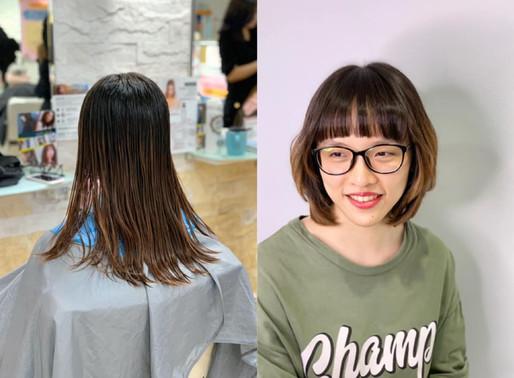 【最新】2020入秋3款時尚髮型推薦—沙龍專訪明姿Ming Tzug設計師Joanne