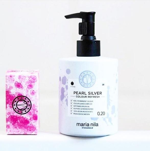 Pearl Sliver 宇宙銀口紅超導護髮素