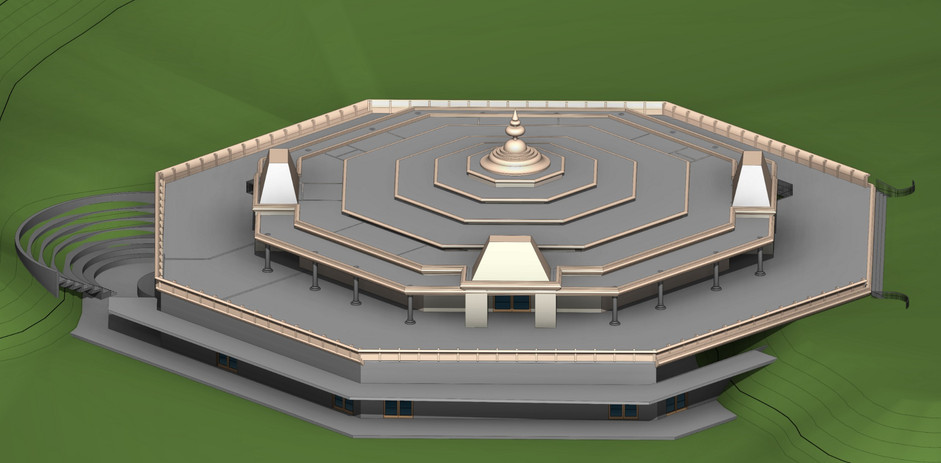 V1-20180915-TEMPLE IHF CA  - 3D View - {