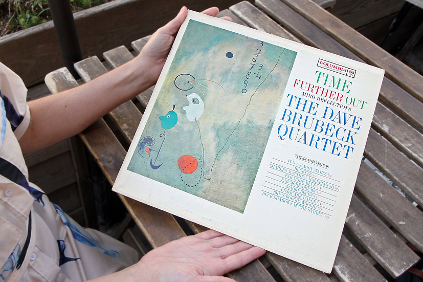 Time Further Out by Dave Brubeck Quartet in Joan Miro Reflections LP Vinyl