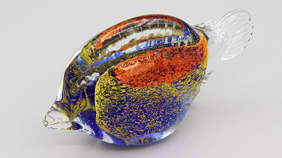 fish glass sculpture