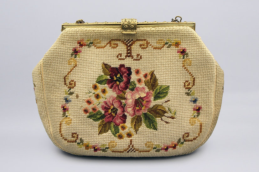Needlework Tapestry bag